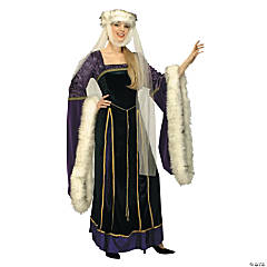 Medieval Lady Adult Women's Costume