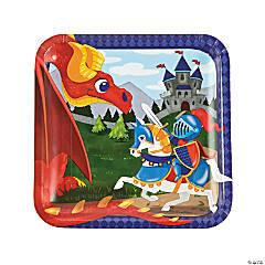 Medieval Prince Paper Dinner Plates