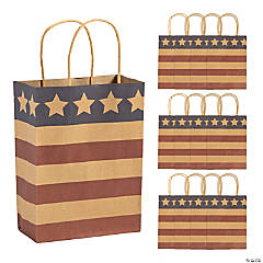 Medium Americana Kraft Paper Gift Bags