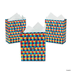Medium Autism Awareness Gift Bags