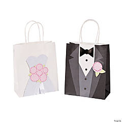 Medium Bride & Groom Craft Bags