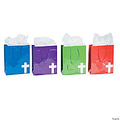 Medium Bright Cross Gift Bags