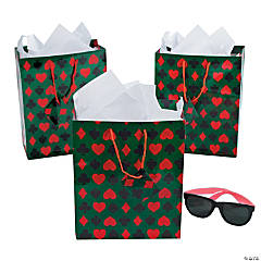 Medium Casino Gift Bags with Tags