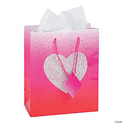 Medium Ombre Heart Gift Bags