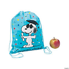 Medium Peanuts<sup>&#174;</sup> Graduation Drawstring Bags