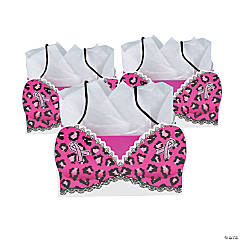 Medium Pink Ribbon Bra-Shaped Gift Bags
