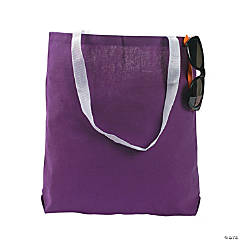Medium Purple Tote Bags