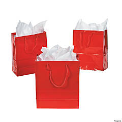 Medium Red Gift Bags
