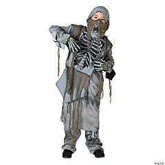 Medium Rotting Zombie Ninja Costume for Boys