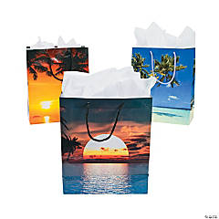 Medium Sand And Sun Gift Bags