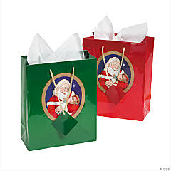 Medium Santa with Jesus Gift Bags