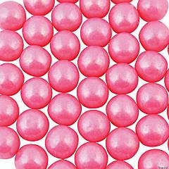 Medium Shimmer Pink Gumballs