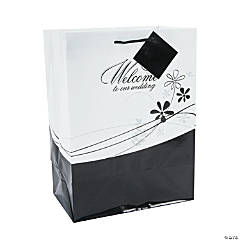 Medium Welcome To Our Wedding Gift Bags
