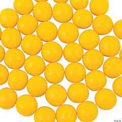 Medium Yellow Gumballs