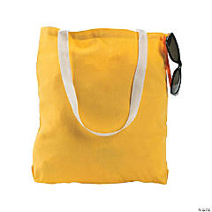 Medium Yellow Tote Bags
