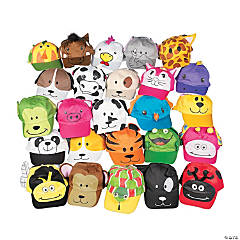 Mega Animal Baseball Cap Assortment