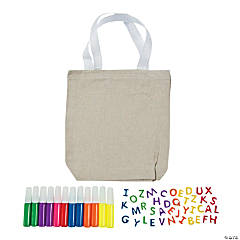 Mega Canvas Bag Craft Kit Assortment