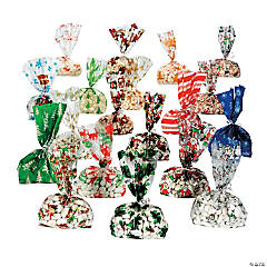 Mega Holiday Cellophane Cellophane Bags Assortment
