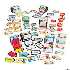 Mega Name Tags/Labels Assortment