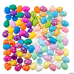 Mega Plastic Easter Egg Assortment - 864 Pc.