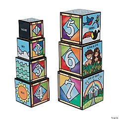 Melissa & Doug® 7 Days of Creation Blocks