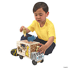 Melissa & Doug® Animal Shape-Sorting Truck