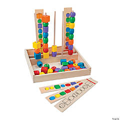 Melissa & Doug® - Bead Sequencing Set