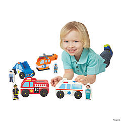Melissa & Doug® Emergency Vehicle Set