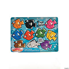 Melissa & Doug Fish Wooden Peg Puzzle