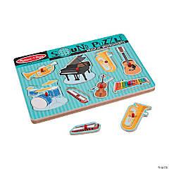Melissa & Doug® Instrument Sound Puzzle