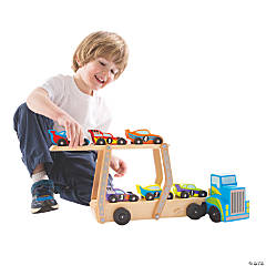 Melissa & Doug® Mega Race Car Carrier
