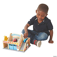 Melissa & Doug® Parking Garage Service Station