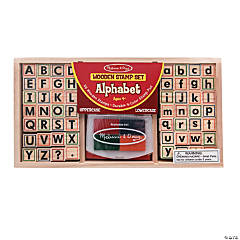 Melissa & Doug<sup>&#174;</sup> Alphabet Stamp Set