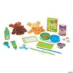 Melissa & Doug<sup>&#174;</sup> Feeding & Grooming Pet Care Playset