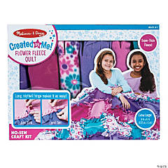 Melissa & Doug<sup>&#174;</sup> Flower Fleece Quilt