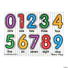 Melissa & Doug<sup>&#174;</sup> See-Inside Numbers Peg Puzzle