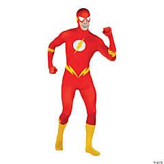 Men's 2nd Skin The Flash Costume
