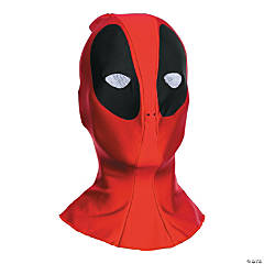 Men's Overhead Fabric Deadpool Mask