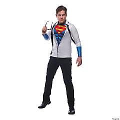 Men's Photo Real Superman Costume Top