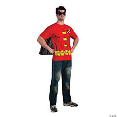 Men's Robin T-Shirt with Cape Costume