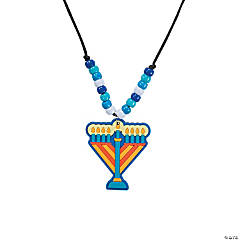 Menorah Necklace Craft Kit