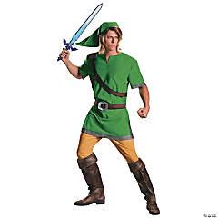 Men's Classic Legend of Zelda Link Costume