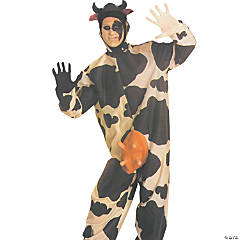 Men's Comical Cow Costume
