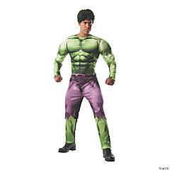 Men's Deluxe Muscle Chest Hulk Costume