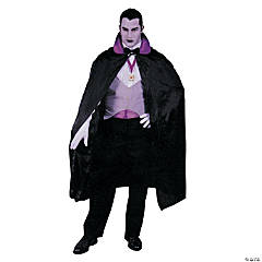Men's Deluxe Purple Vampire Costume