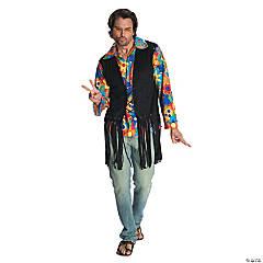 Men's Flower Power Hippie Costume - Extra Large