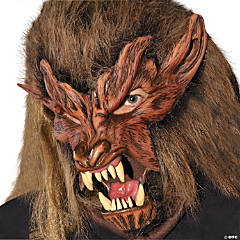 Men's Halloween Lone Wolf Mask