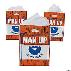 Men's Health Awareness Favor Bags