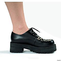 Men's Leopard Print Pimp Shoes
