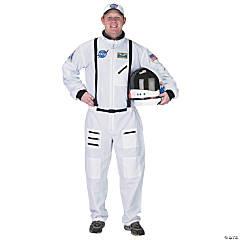Men's White Suit Astronaut Costume